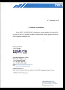 hertz-certifikat