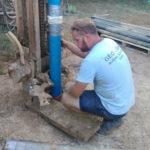 MAG Commerce - montaža cijevi za bunar